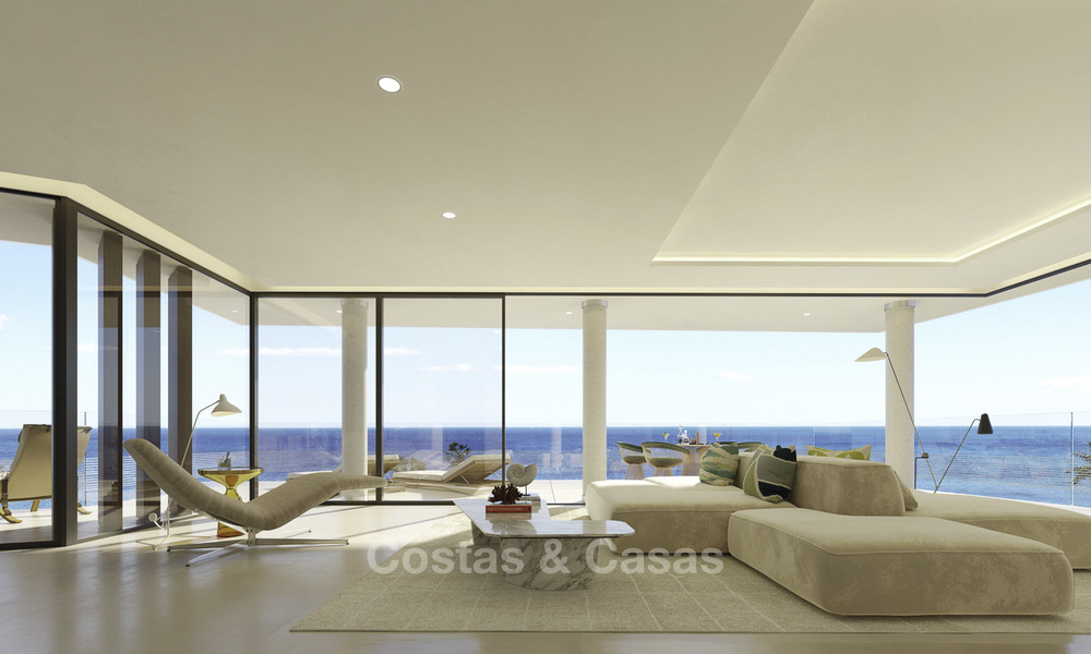 Stunning exclusive beachfront modern luxury apartments in boutique complex for sale near the centre of Estepona 18922