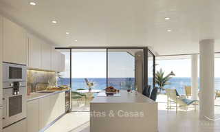 Stunning exclusive beachfront modern luxury apartments in boutique complex for sale near the centre of Estepona 18923