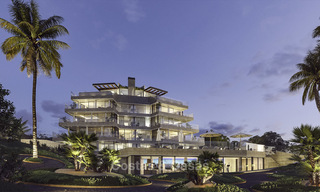 Stunning exclusive beachfront modern luxury apartments in boutique complex for sale near the centre of Estepona 18925