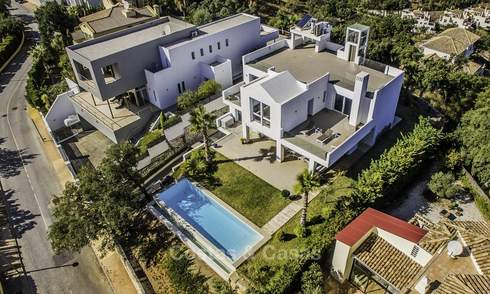 Stunning, very spacious modern villa with amazing sea views for sale in the hills of East Marbella 18961