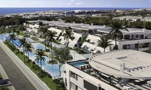 Exclusive, super-deluxe modern apartments and penthouses for sale on the Golden Mile, Marbella 18966