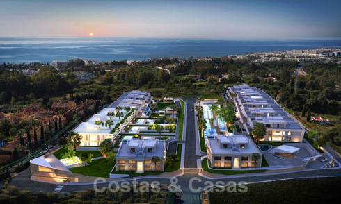 Exclusive, super-deluxe modern apartments and penthouses for sale on the Golden Mile, Marbella 28193