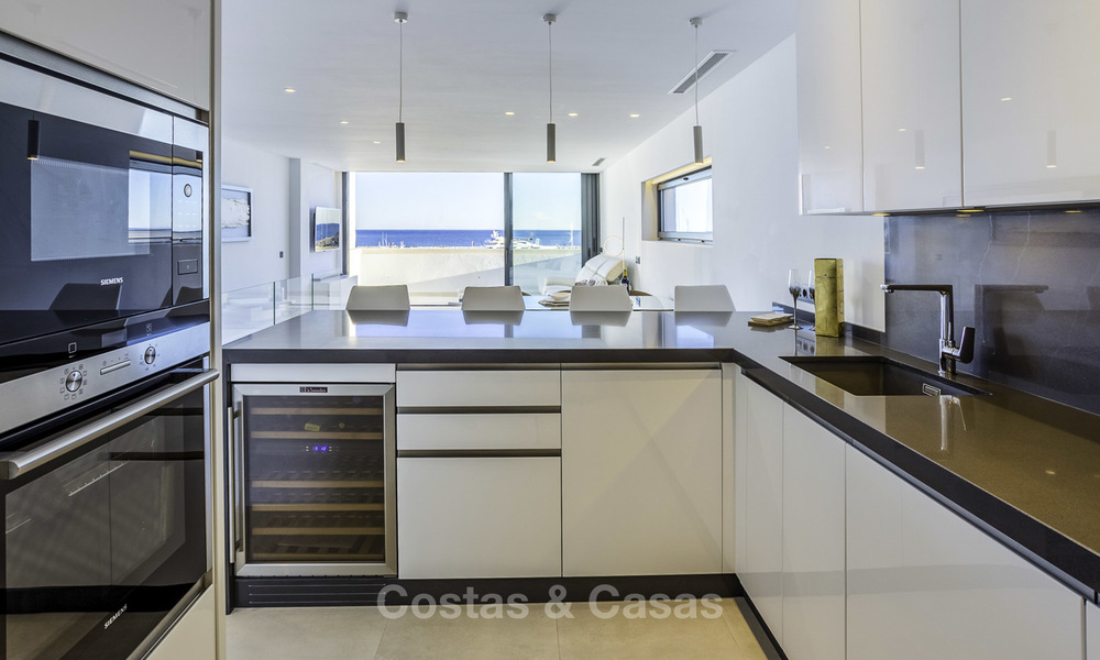 Stunning, fully renovated high end penthouse apartment for sale in the marina of Puerto Banus, Marbella 18989