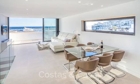 Stunning, fully renovated high end penthouse apartment for sale in the marina of Puerto Banus, Marbella 19247