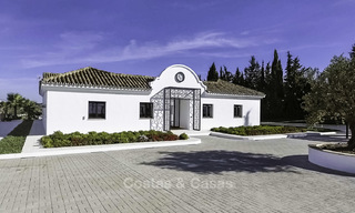 Completely renovated rustic villa for sale on the New Golden Mile between Marbella and Estepona 19106