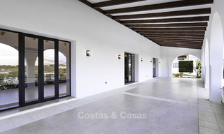 Completely renovated rustic villa for sale on the New Golden Mile between Marbella and Estepona 19121