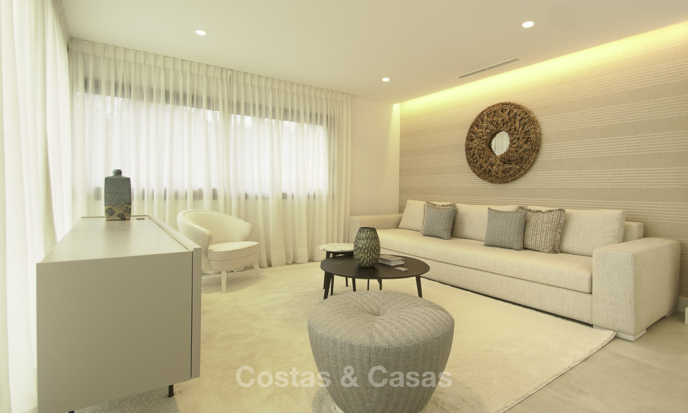 Brand new contemporary villa for sale, furnished and move-in ready, Golf valley, Nueva Andalucia, Marbella 19251