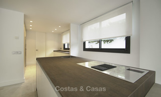 Brand new contemporary villa for sale, furnished and move-in ready, Golf valley, Nueva Andalucia, Marbella 19254
