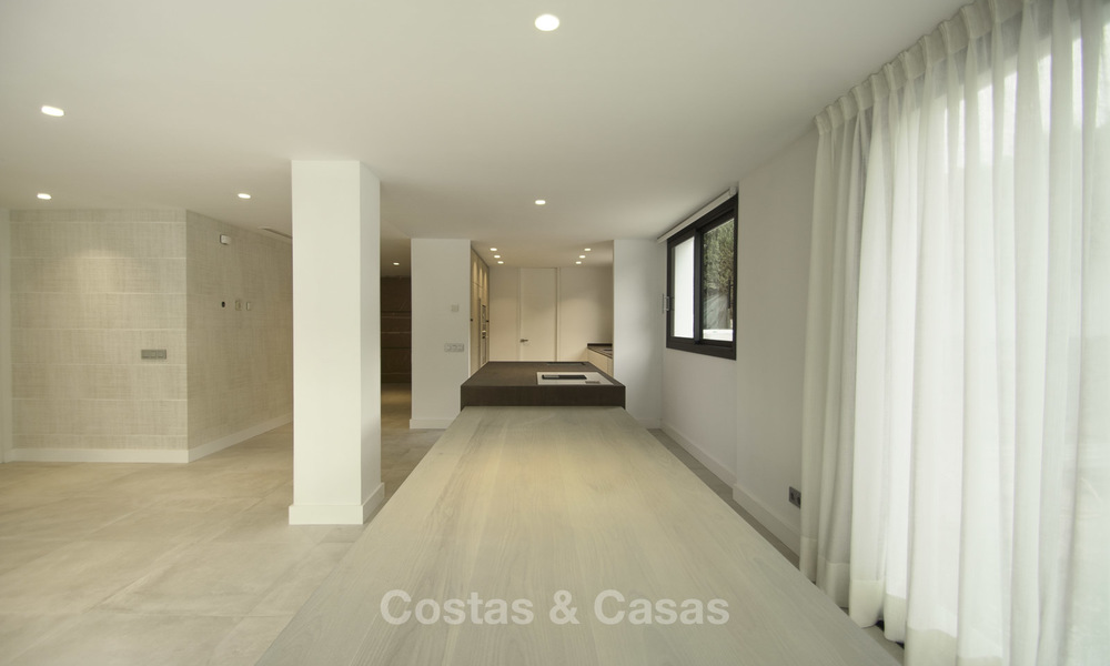 Brand new contemporary villa for sale, furnished and move-in ready, Golf valley, Nueva Andalucia, Marbella 19255