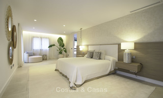 Brand new contemporary villa for sale, furnished and move-in ready, Golf valley, Nueva Andalucia, Marbella 19259