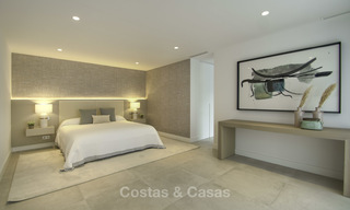 Brand new contemporary villa for sale, furnished and move-in ready, Golf valley, Nueva Andalucia, Marbella 19262