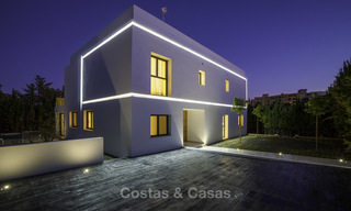 Brand new contemporary villa for sale, furnished and move-in ready, Golf valley, Nueva Andalucia, Marbella 19279