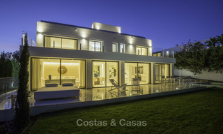Brand new contemporary villa for sale, furnished and move-in ready, Golf valley, Nueva Andalucia, Marbella 19281