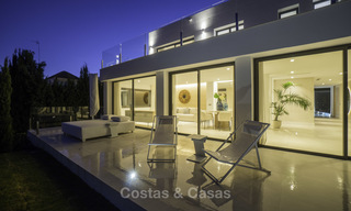 Brand new contemporary villa for sale, furnished and move-in ready, Golf valley, Nueva Andalucia, Marbella 19282
