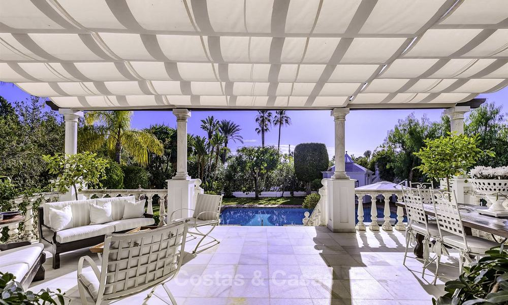 Charming Italian rustic villa on a double plot for sale, completely renovated, Marbella - Estepona 19285