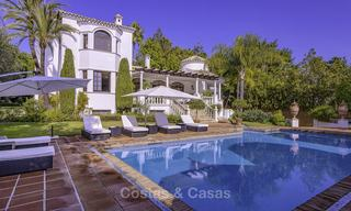 Charming Italian rustic villa on a double plot for sale, completely renovated, Marbella - Estepona 19298