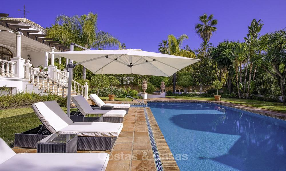 Charming Italian rustic villa on a double plot for sale, completely renovated, Marbella - Estepona 19299