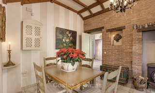 Charming Italian rustic villa on a double plot for sale, completely renovated, Marbella - Estepona 19309