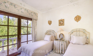 Charming Italian rustic villa on a double plot for sale, completely renovated, Marbella - Estepona 19310