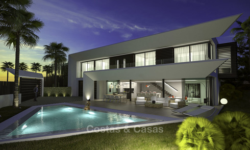Scoop! New contemporary luxury villas with panoramic sea views for sale in East Marbella 19321