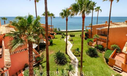 Marvellous fully renovated beachfront top floor apartment with stunning sea views for sale, West-Estepona 26837
