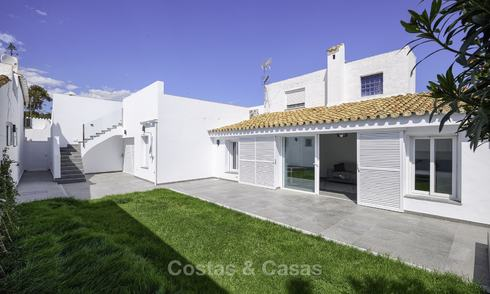 Two cosy, fully renovated townhouses for sale as one on the New Golden Mile, East Estepona 19376