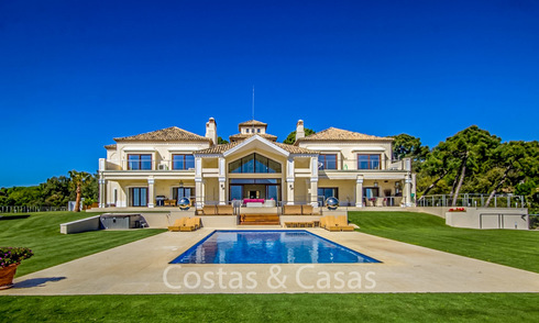 Exquisite luxury villa with astounding sea and mountain views for sale in the uber exclusive La Zagaleta estate, Benahavis - Marbella 19434