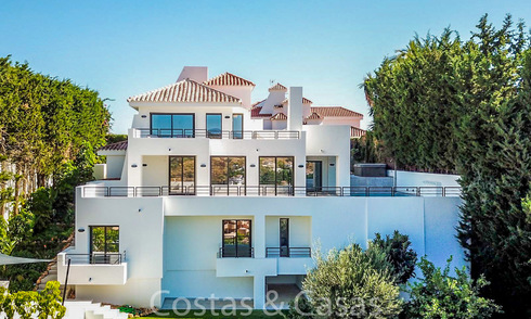 Recently completely renovated traditional villa with sea and mountain views for sale, Nueva Andalucia, Marbella 19541