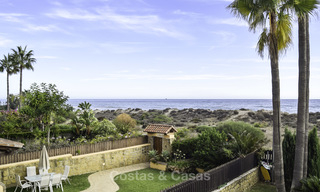 Attractive apartment for sale in a looked after beachfront complex, East Marbella 19593
