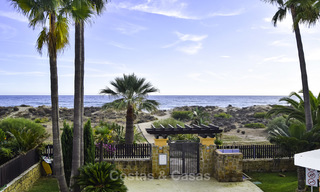 Attractive apartment for sale in a looked after beachfront complex, East Marbella 19594