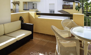 Attractive apartment for sale in a looked after beachfront complex, East Marbella 19596