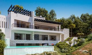 Off-plan turnkey modern villa project with approved building licence for sale, Elviria, Marbella 19646