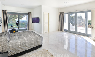 Masterpiece luxury villa on a massive plot and with amazing 360º panoramic views for sale, East Marbella 19764