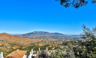 Masterpiece luxury villa on a massive plot and with amazing 360º panoramic views for sale, East Marbella 19803