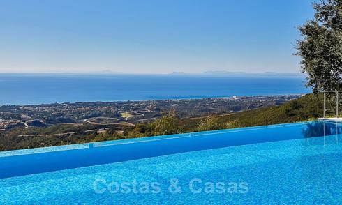 Masterpiece luxury villa on a massive plot and with amazing 360º panoramic views for sale, East Marbella 19804