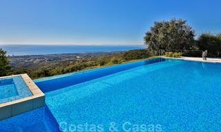 Masterpiece luxury villa on a massive plot and with amazing 360º panoramic views for sale, East Marbella 19805