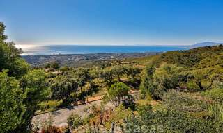 Masterpiece luxury villa on a massive plot and with amazing 360º panoramic views for sale, East Marbella 19807