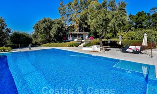 Masterpiece luxury villa on a massive plot and with amazing 360º panoramic views for sale, East Marbella 19808