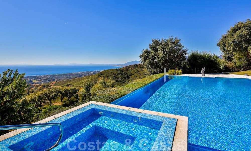 Masterpiece luxury villa on a massive plot and with amazing 360º panoramic views for sale, East Marbella 19809