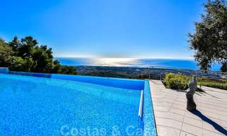 Masterpiece luxury villa on a massive plot and with amazing 360º panoramic views for sale, East Marbella 19810