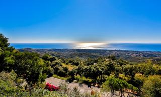 Masterpiece luxury villa on a massive plot and with amazing 360º panoramic views for sale, East Marbella 19811