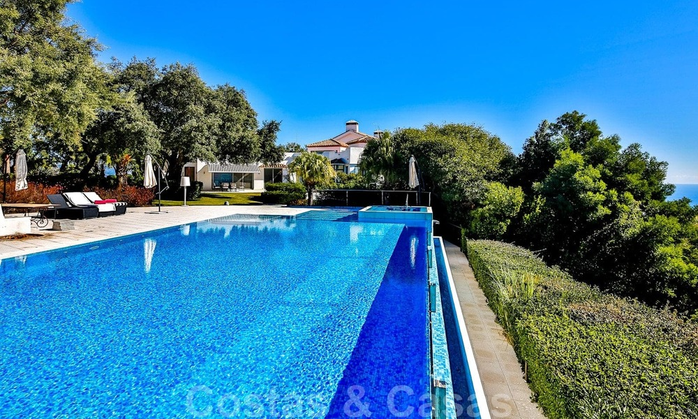 Masterpiece luxury villa on a massive plot and with amazing 360º panoramic views for sale, East Marbella 19812
