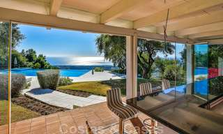 Masterpiece luxury villa on a massive plot and with amazing 360º panoramic views for sale, East Marbella 19815