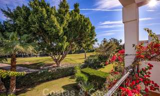 Attractive semi detached townhouse for sale, frontline on a prestigious golf course, Benahavis - Marbella 19893