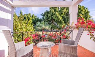 Attractive semi detached townhouse for sale, frontline on a prestigious golf course, Benahavis - Marbella 19903