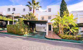 Attractive semi detached townhouse for sale, frontline on a prestigious golf course, Benahavis - Marbella 19905