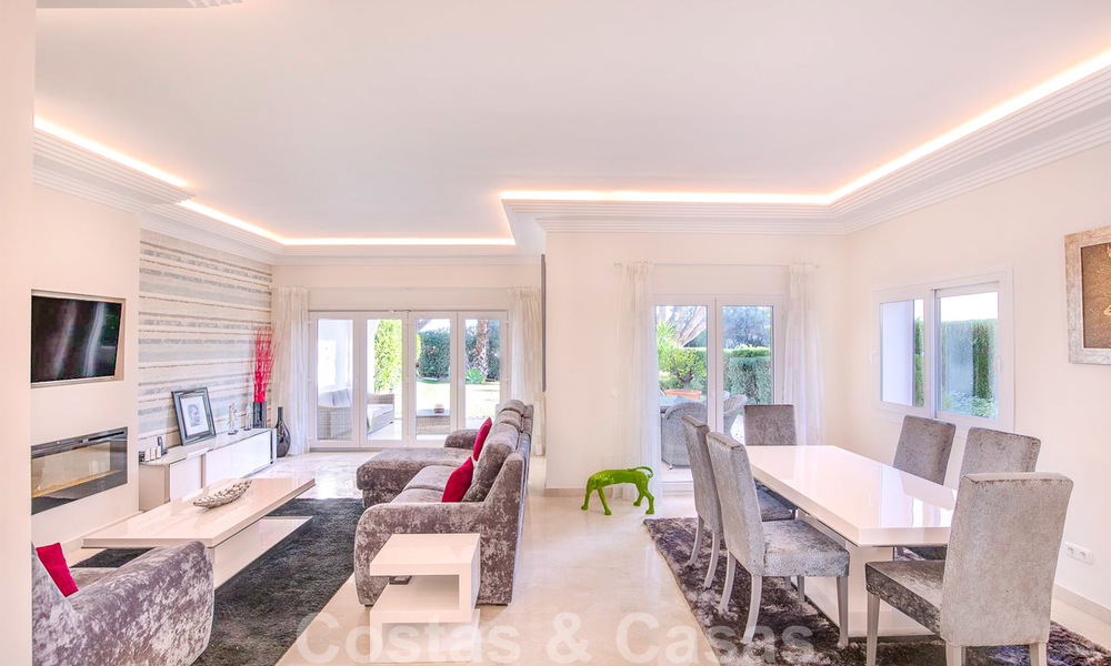 Attractive semi detached townhouse for sale, frontline on a prestigious golf course, Benahavis - Marbella 19912