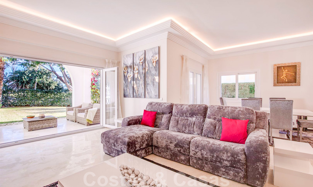 Attractive semi detached townhouse for sale, frontline on a prestigious golf course, Benahavis - Marbella 19913