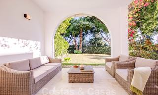 Attractive semi detached townhouse for sale, frontline on a prestigious golf course, Benahavis - Marbella 19914