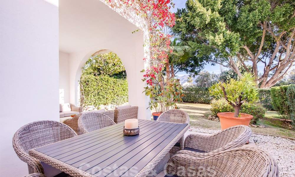 Attractive semi detached townhouse for sale, frontline on a prestigious golf course, Benahavis - Marbella 19915